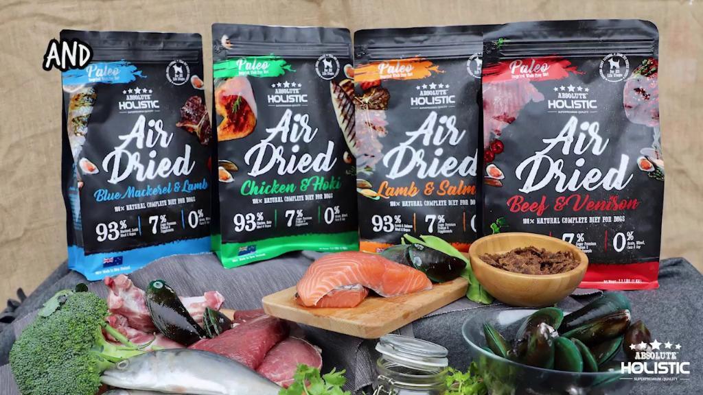 Absolute Holistic Air Dried Dog Food