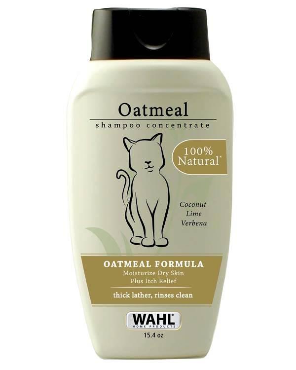 Wahl Oatmeal Shampoo for Cats
